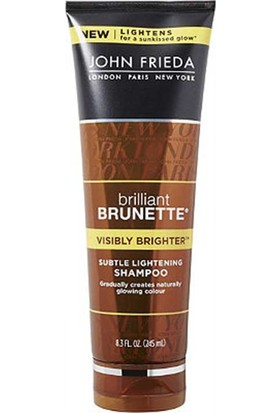 John Frieda Brillant Brunette Visibly Brighter Shampoo 250Ml