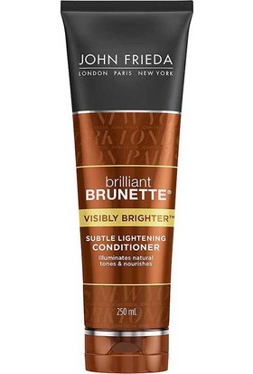 John Frieda Brillant Brunette Visibly Brighter Conditioner 250Ml