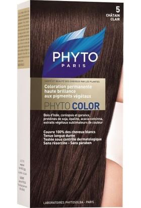 Phyto Color Saç Boyası 5 Açık Kestane (Chatain Clair)