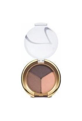 Jane Iredale Pure Pressed Triple Eye Shadow(Brown Sugar)