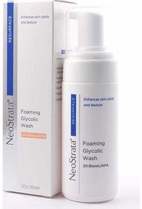 Neostrata Foaming Glycolic Wash Yüz Yıkama Köpüğü 100 Ml