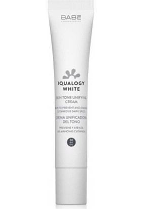 Babe Iqualogy White Skin Tone Unifying Cream Spf30 50Ml- Leke Kremi Spf 30