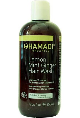 Hamadi Lemon Mint Ginger Hair Wash 355 Ml