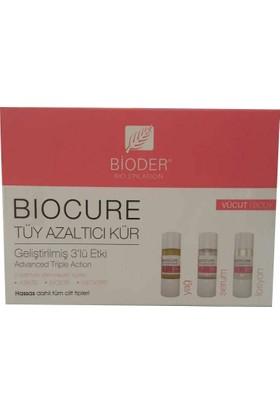 Bioder Biocure Tüy Azaltıcı Vücut Kürü 3X10