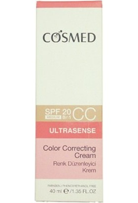 Cosmed Ultrasense Color Correcting Cc Spf 20 40 Ml Medium