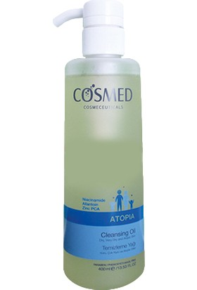 Cosmed Atopia Cleansing Oil 400Ml Temizleme Yağı