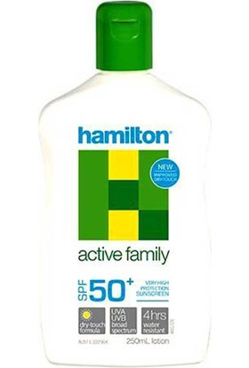Hamilton Active Family Losyon Spf50+ 250Ml