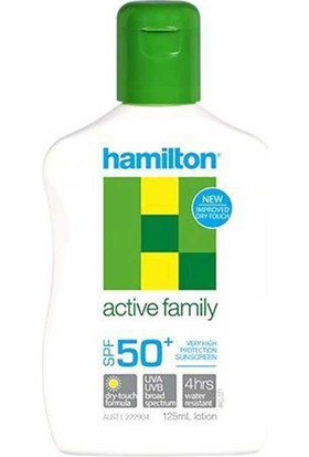 Hamilton Active Family Losyon Spf50+ 125Ml