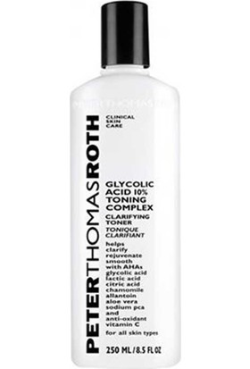 Peter Thomas Roth Glycolic Acid 10% Toning Complex 250Ml