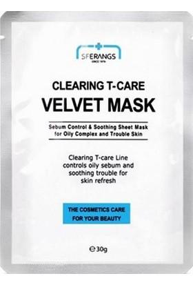 Sferangs Clearing T-Care Velvet Mask 30G X 5