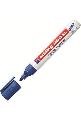 Edding Beyaz Tahta Kalemi Cap Off E-360Xl Mavi