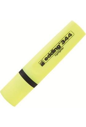 Edding 344 Sarı Fosforlu Kalem
