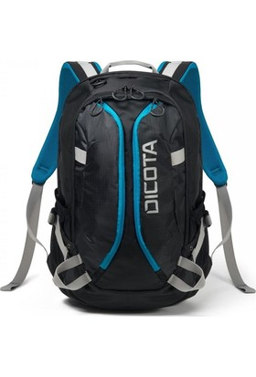 Dicota D31047 Active 14-15.6'' Notebook Sırt Çantası - Siyah / Mavi