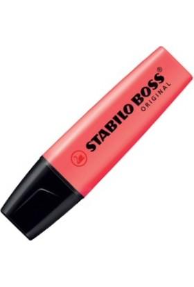 Stabilo Boss Kırmızı Fosforlu Kalem 70/40