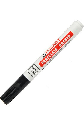 Ponart Porselen Kalemi Renk - Siyah