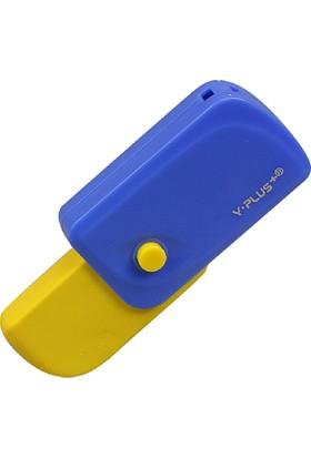 Y-Plus Spinner Katlanabilir Sarı Silgi Ex1106