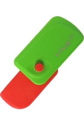 Y-Plus Spinner Katlanabilir Kırmızı Silgi Ex1106