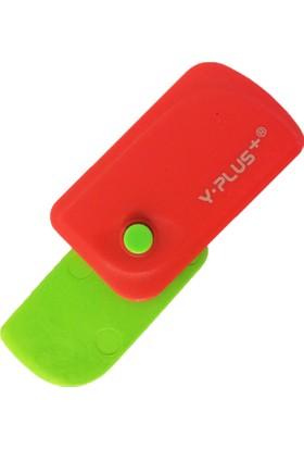 Y-Plus Spinner Katlanabilir Yeşil Silgi Ex1106