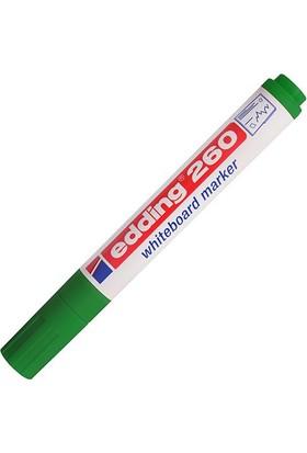 Edding Beyaz Tahta Kalemi E-260 Yeşil