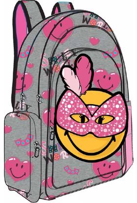 Trendix Smiley Mask İlkokul Çantası Tek Gözlü Trx-1E-Smb