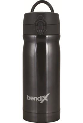 Trendix 350Ml Gri Çelik İçli Termos Matara U1800-Gr