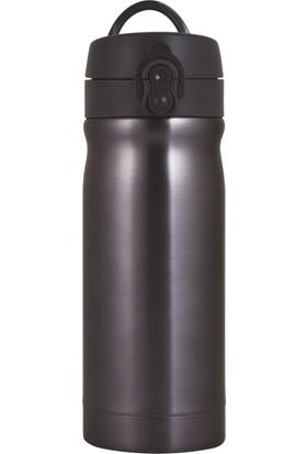 Trendix 350Ml Koyu Gri Çelik İçli Matara U1800-Kg