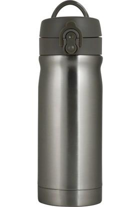 Trendix 350Ml Metalik Gri Çelik İçli Matara U1800-Mg