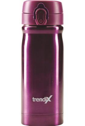 Trendix 350Ml Mor Çelik İçli Termos Matara U1800-Mo