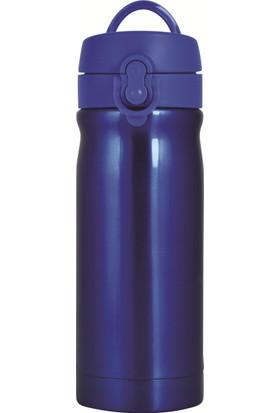 Trendix 350Ml Neon Mavi Çelik İçli Matara U1800-Nm