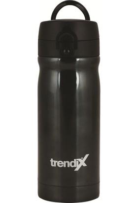 Trendix 350Ml Siyah Çelik İçli Termos Matara U1800-Sı