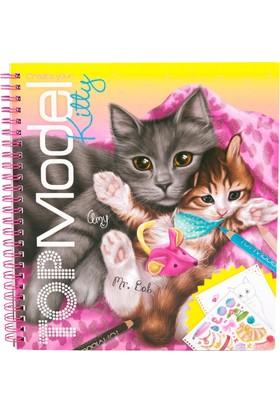 Top Model Kitty Boyama Kitabı Dk06671