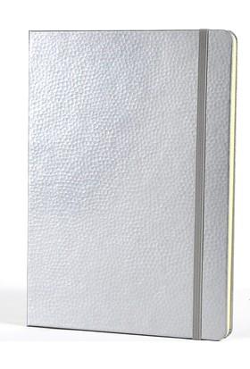 Keskin Color Victoria'S Journals Grace Paper Açık Gri 15X20 Cm Çizgili Ciltli Defter