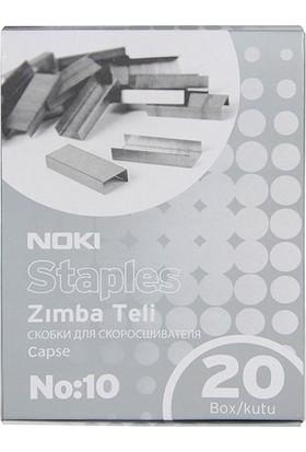 Noki Zımba Teli No: 10 Beyaz 20'Li Paket