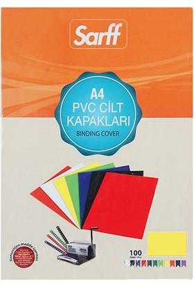 Sarff Cilt Kapağı Pvc 160 Micron A4 Sarı 100'Lü Paket