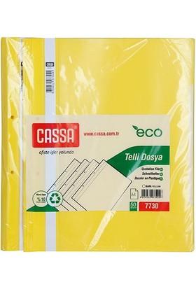 Cassa Telli Dosya Ekonomik 50'Li Paket (7730) Renk - Sari