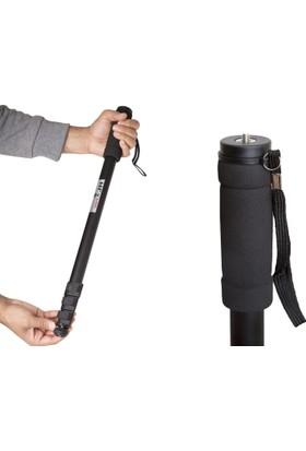 Haskan Nikon D90 Fotoğraf Makinesi İçin 170cm Monopod 5 Kg Taşıma