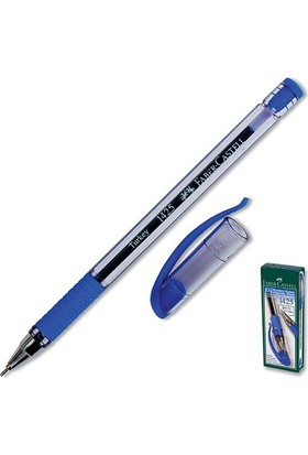 Faber-Castelll 1425 0.7 Mm Mavi Tükenmez Kalem