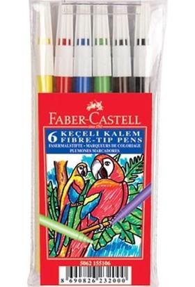 Faber-Castelll 6'Lı Poşet Keçeli Kalem
