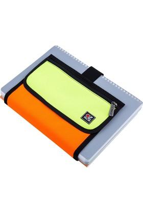 Ozpack Neon Turuncu Yeşil Çanta Asd032