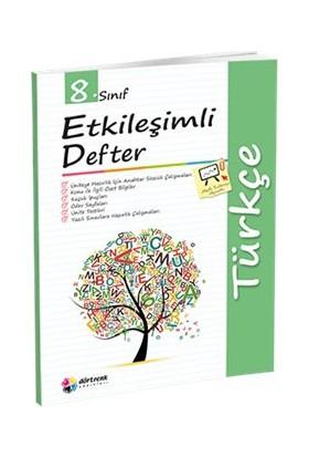 Dörtrenk Yayınları 8. Sınıf Türkçe Etkileşimli Defter