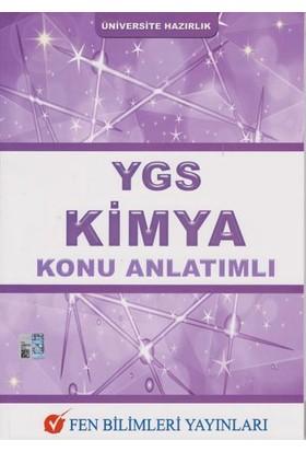 Fen Bilimleri Yayınları Ygs Kimya Konu Anlatımlı