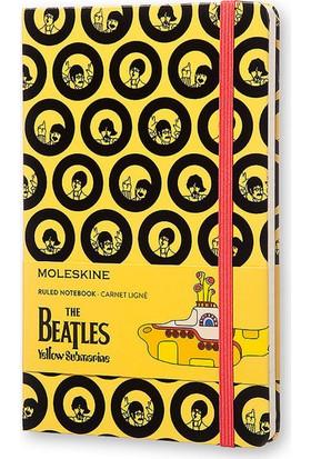 Moleskine Defter Le Beatles L Boy Çizgili Sarı Lebeaqp060Ys