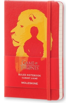 Moleskine Le Game Of Thrones Cep Çizgili Defter Legtmm710F