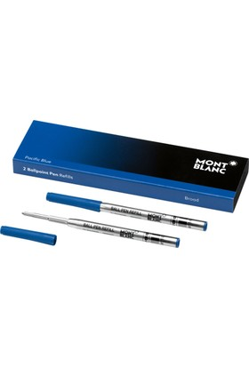 Montblanc Tükenmez Kalem Yedeği Broad Pasifik Mavi 116214