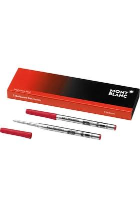 Montblanc Tükenmez Kalem Yedeği Medium Kırmızı 116215