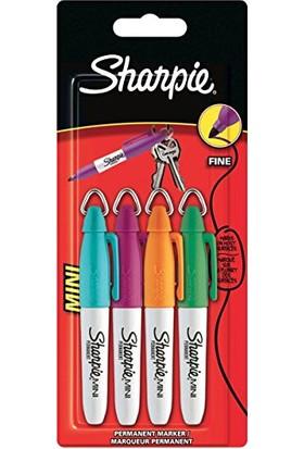 Sharpie 4'lü Mini Permanent Markör Canlı Renkler S0811260