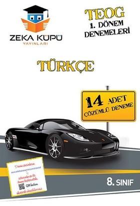 Zeka Küpü Yayınları 8. Sınıf Türkçe Teog 1 Dönem Denemeleri