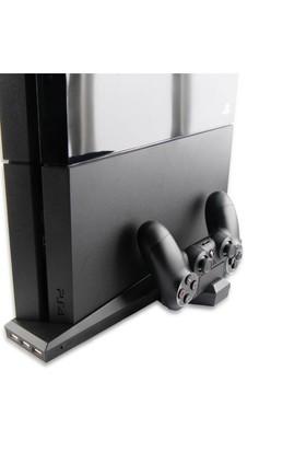 Oivo Ps4 Playstasion 4 Şarj İstasyonu Ve Soğutucu Fan - Siyah