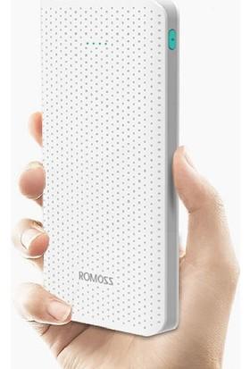 Romoss 10000 mAh Sense10 Black Harici Batarya - Beyaz