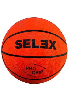Selex B-7 No Kauçuk Turuncu Basketbol Topu 7 No.